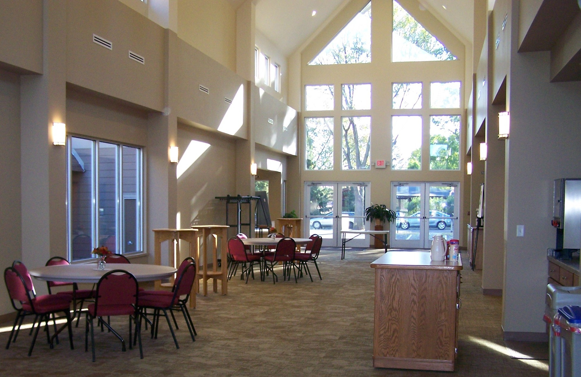 commons gathering area